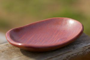 夕焼け豆皿