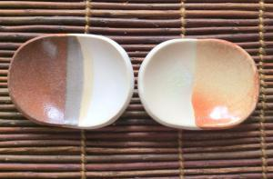 pair mamezara.Small dishes.