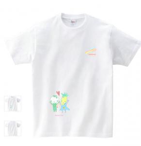 名入れオーダーメイド似顔絵風画親子Tシャツ